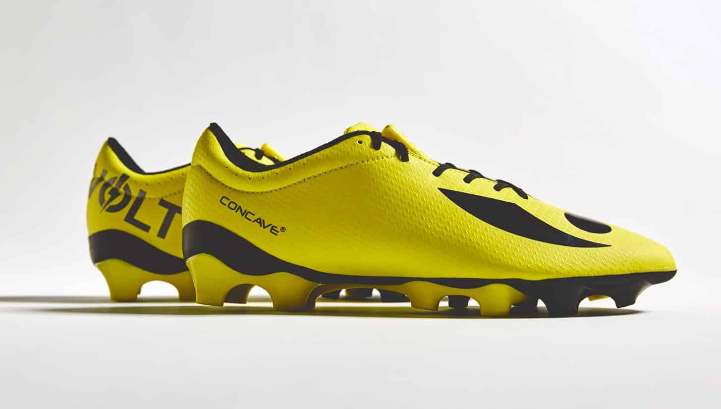 chaussures-football-Concave-Volt-jaune-noir-img1