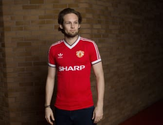 Une collection adidas Originals x Manchester United