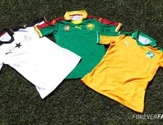 Puma dévoile ses maillots pour la CAN 2017