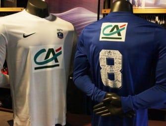 Un maillot collector pour la Coupe de France