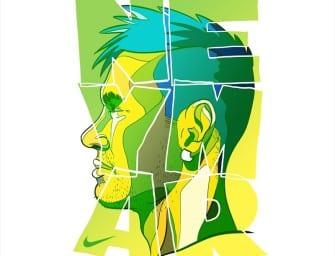 Dan Leydon refait le portrait de Pogba, Neymar et Cristiano