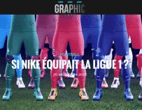 Si la Ligue 1 était équipée par Nike