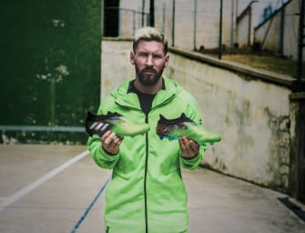 adidas lance une nouvelle édition limitée Messi 10/10