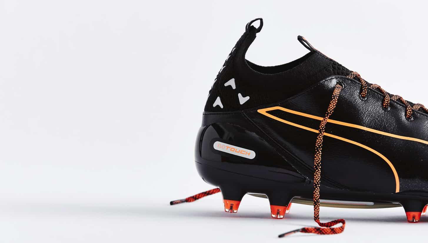chaussures-football-puma-evotouch-noir-orange-5