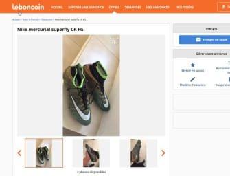 Chaussures de foot : les pires annonces vues sur Le Bon Coin