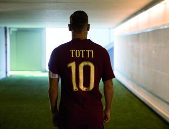 Totti explose encore les chiffres avec son maillot ce qui pose quelques problèmes