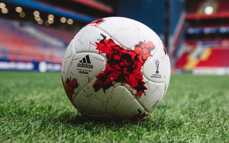 Krasava le ballon officiel de la coupe des conf d rations - Prochaine coupe du monde de foot 2018 ...