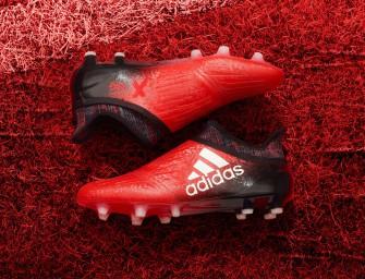 adidas dévoile une X16 «Red Limit»