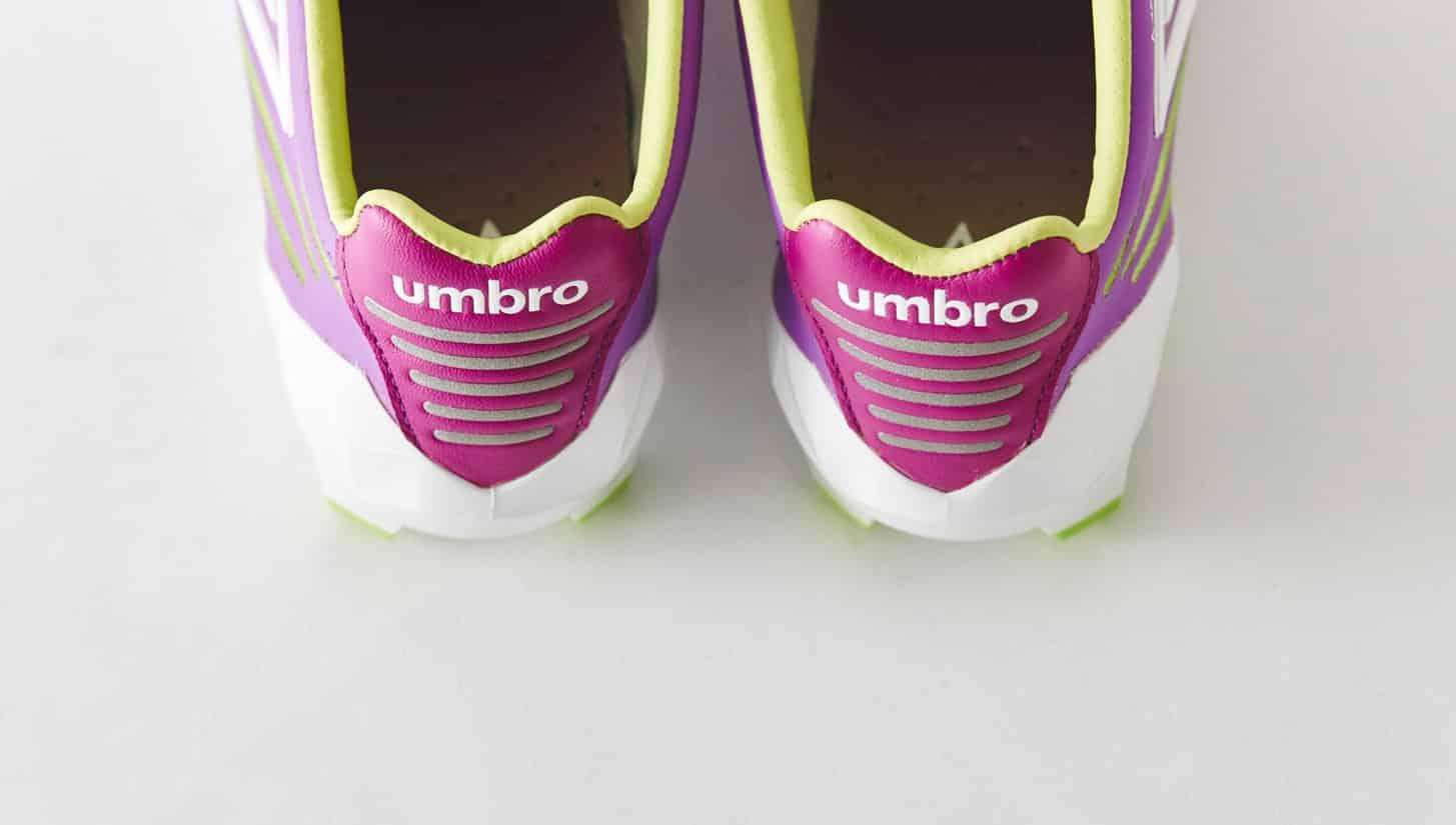 chaussures-football-umbro-medusae-violet-vert-citron-img2