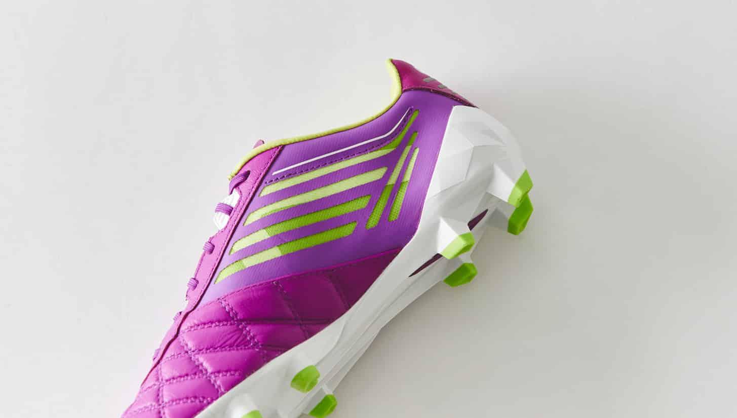 chaussures-football-umbro-medusae-violet-vert-citron-img4