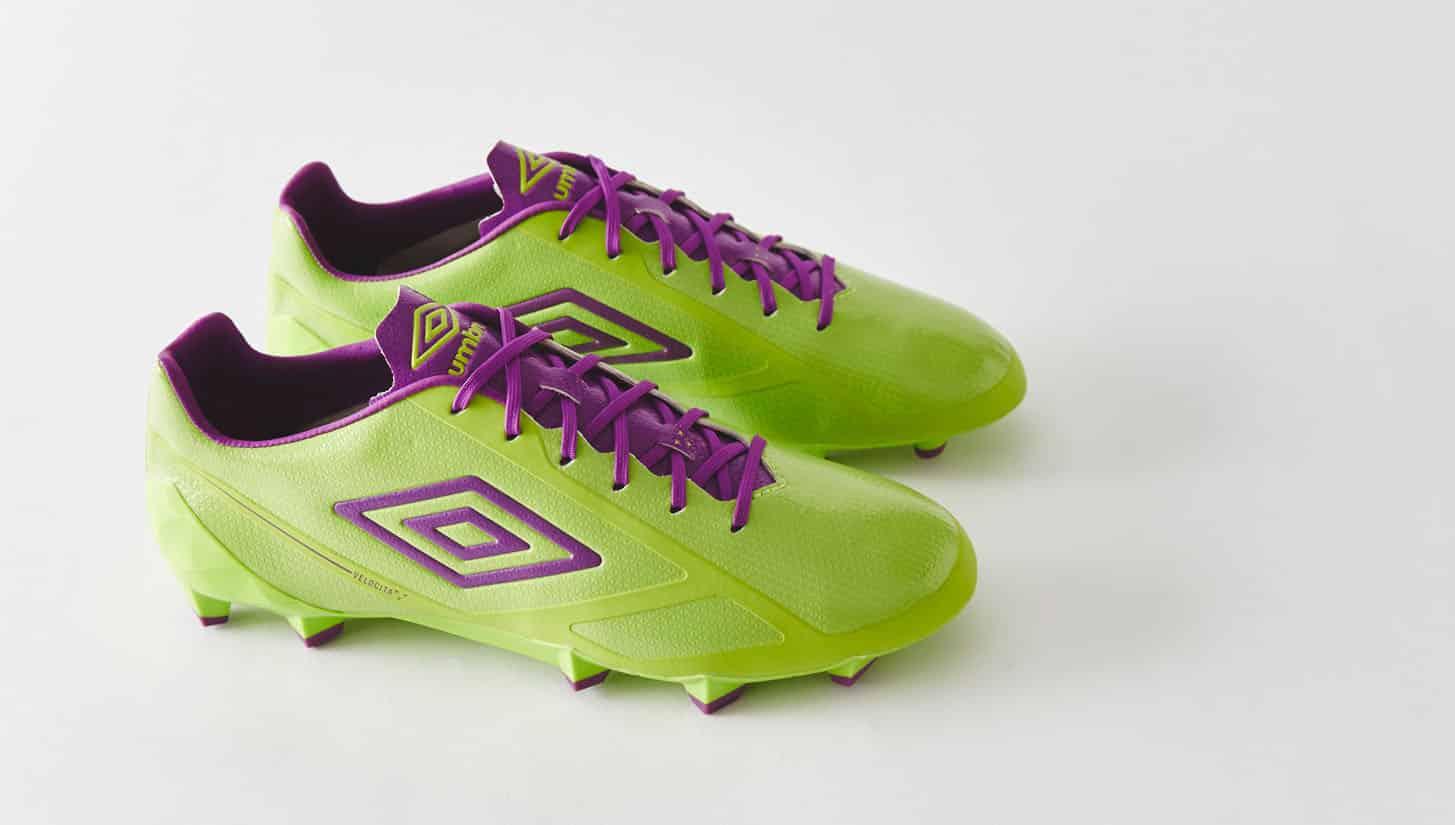 chaussures-football-umbro-velocita-violet-vert-citron-img4