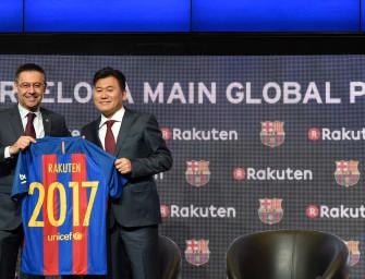 Rakuten, nouveau sponsor maillot du Barça