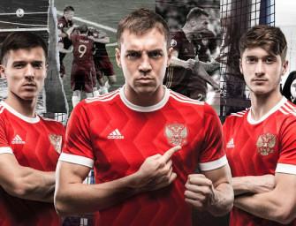 adidas dévoile le nouveau maillot de la Russie