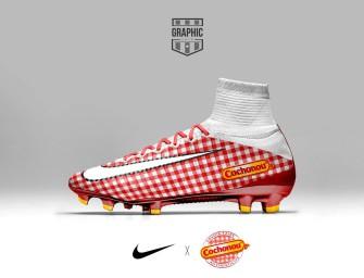 Si les chaussures de foot comportaient des pubs !