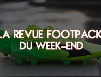 La revue Footpack du week-end (17-18/12/2016)