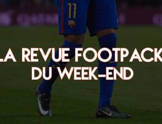 La revue Footpack du week-end #1