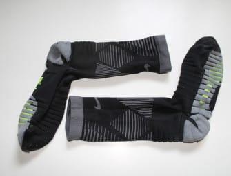 Test des chaussettes Nike Grip