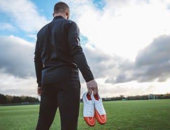 La chaussure personnalisée de Rooney pour célébrer ses 250 buts