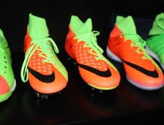 Focus sur la gamme complète Nike Hypervenom 3