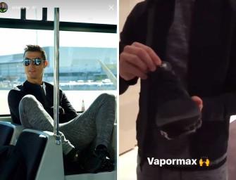Cristiano Ronaldo dévoile une VaporMax inédite