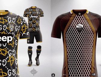Les maillots de football version luxe