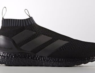 Une adidas ACE16+PureControl UltraBoost Blackout