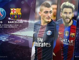 Les chaussures de PSG-FC Barcelone