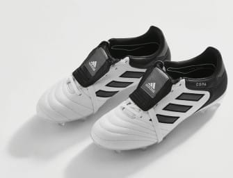 L'adidas Gloro est bien de retour dans un coloris Blanc/Noir