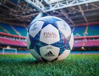adidas dévoile le ballon de la phase finale de la Ligue des champions 2017