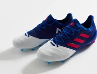 Focus sur l'adidas ACE17.1 cuir «Blue Blast»