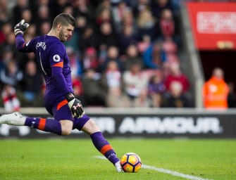 Fraser Forster s'engage officiellement avec Under Armour