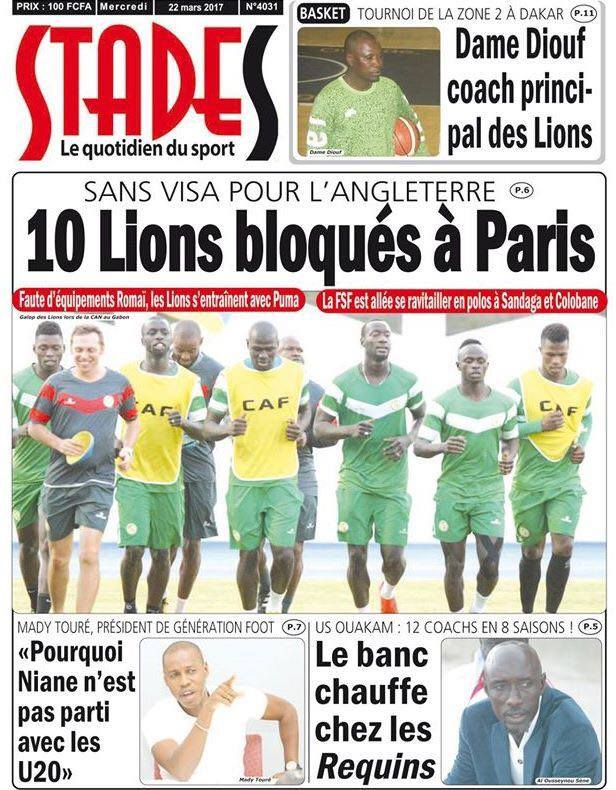 Lions et Super eagles se neutralisent en amical, 1-1 — Football-Résultat