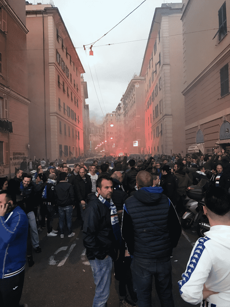 Genoa Sampdoria Derby Lanterne 2017 10
