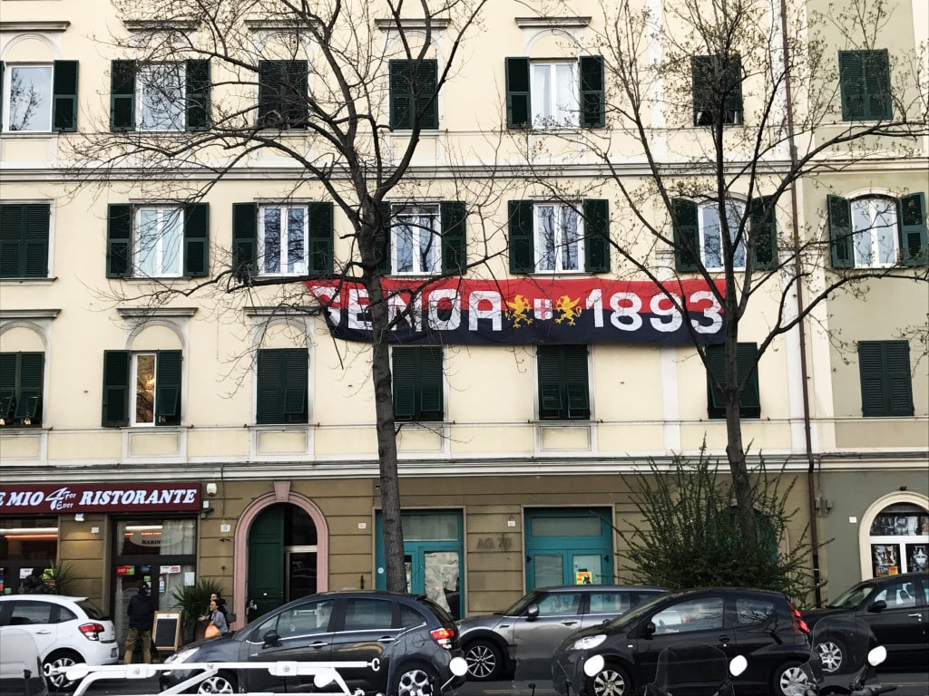 Genoa Sampdoria Derby Lanterne 2017 2