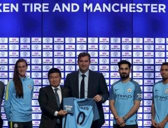 Manchester City est le premier club à dévoiler son sponsor sur la manche