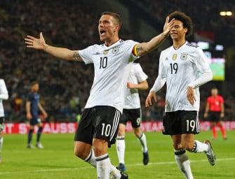 La nouvelle collection Nike Air Max en action pour Allemagne – Angleterre