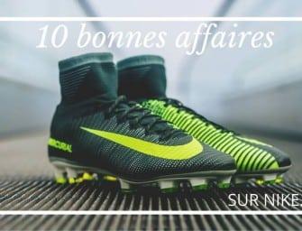Le Top 10 des bonnes affaires des Flash Sale de Nike !