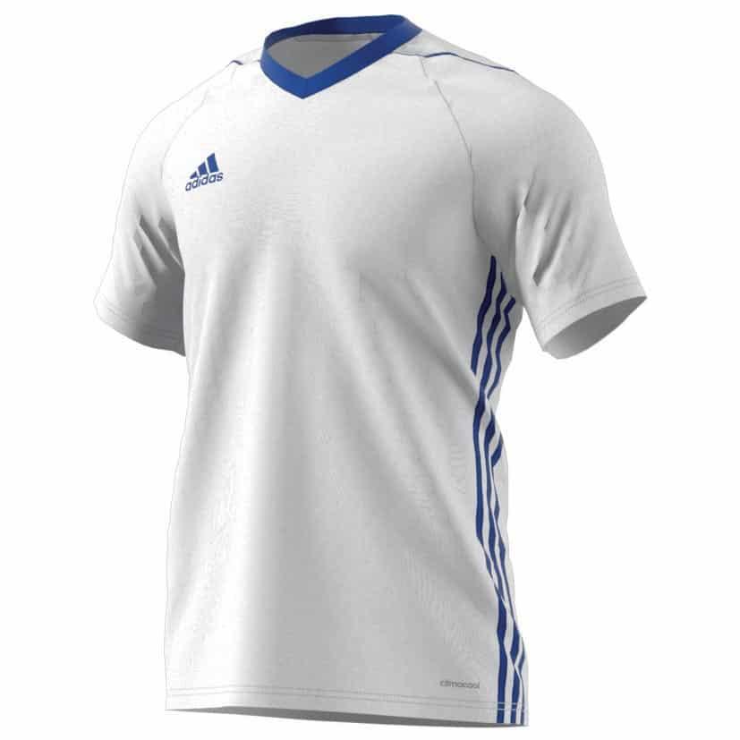 maillot-football-adidas-tiro-17-teamwear-blanc