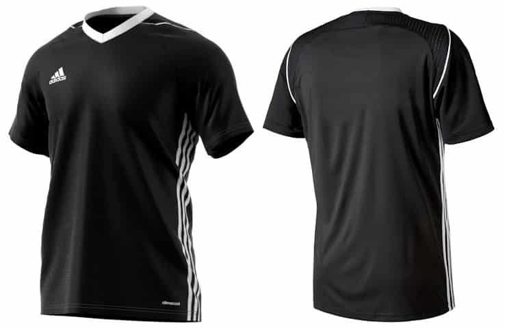 maillot-football-adidas-tiro-17-teamwear-noir
