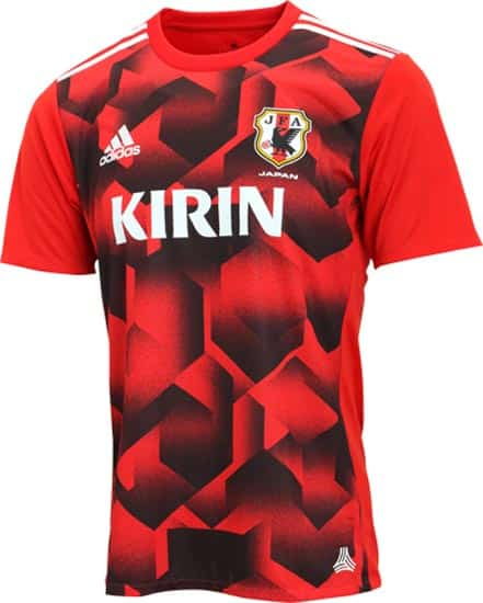 maillot-football-entraînement-adidas-japon-2017-rouge-img2