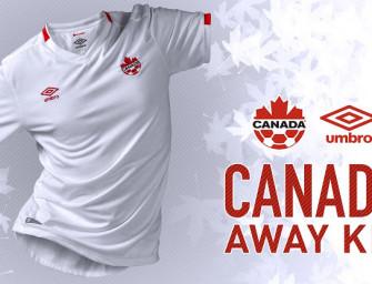 Umbro dévoile le nouveau maillot away pour le Canada