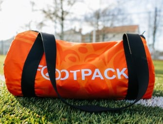 1Bag1Match X Footpack : du maillot au sac !