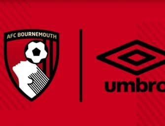 Bournemouth s'engage avec Umbro