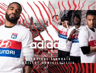 Les maillots de l'Olympique Lyonnais pour la saison 2017-2018