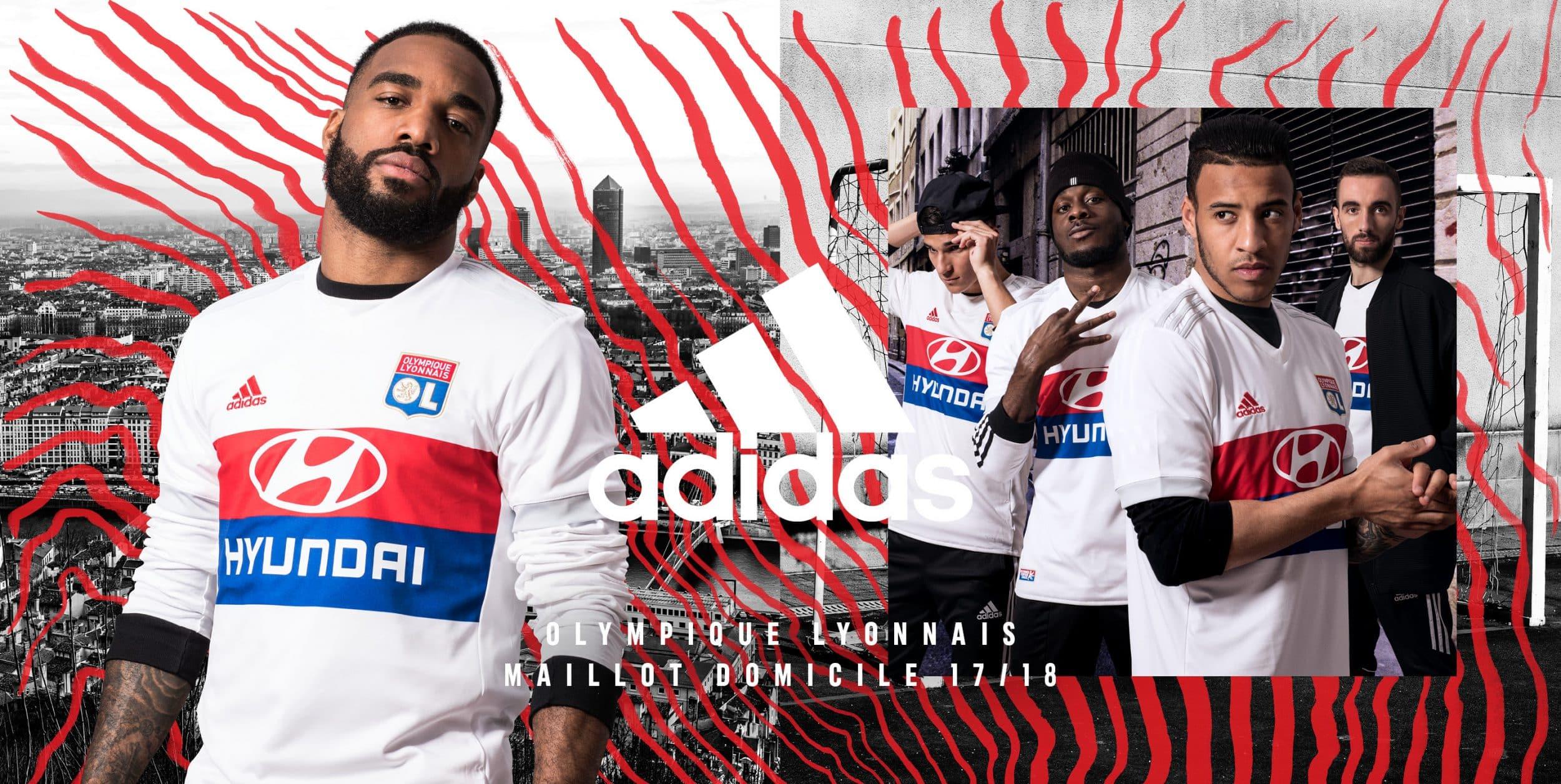 maillot-domicile-olympique-lyonnais-lyon-adidas-2017-2018