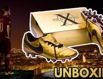 UNBOXING Nike Tiempo Totti 👑