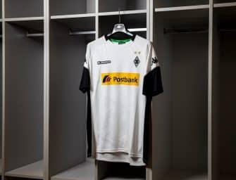 Kappa lance les maillots du Borussia Mönchengladbach pour la saison 2017/2018