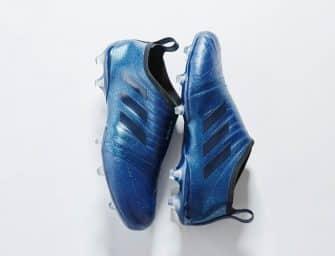 Un nouveau coloris «True Blue» en cuir pour la Glitch17 d'adidas