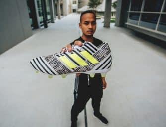 adidas présente la Nemeziz, sa nouvelle chaussure de foot