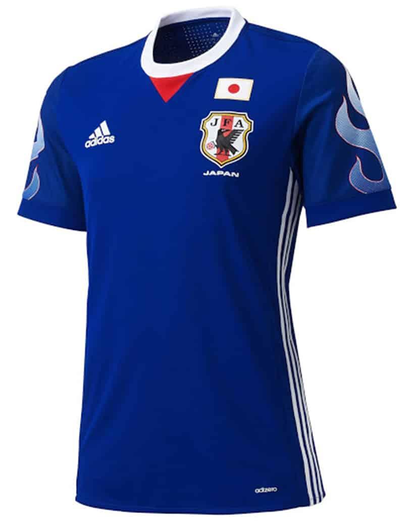 adidas maillot foot japon